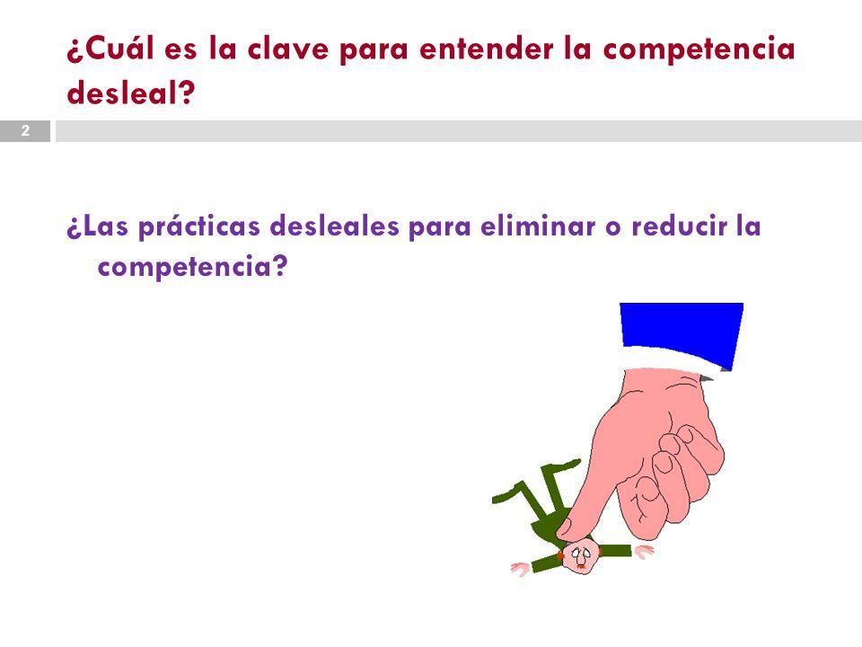 O… 3 ¿las prácticas que se aprovechan de la posición desigual y las asimetrías entre los competidores?