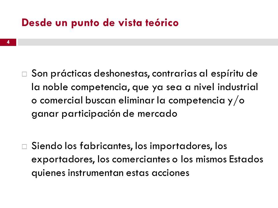 Argentina: importaciones de calzado 15 2008 China 30% del total 2012 China 15% del total