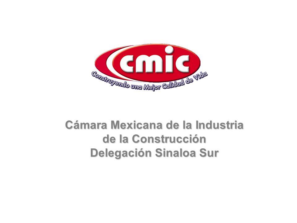 Cámara Mexicana de la Industria de la Construcción Delegación Sinaloa Sur
