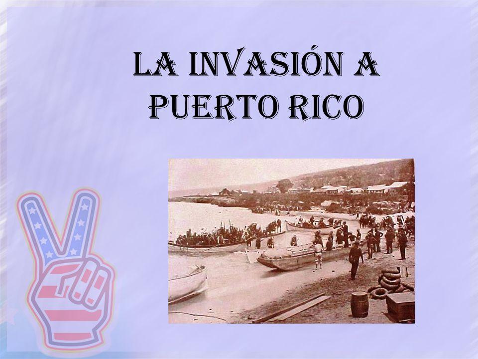 La invasión a puerto rico