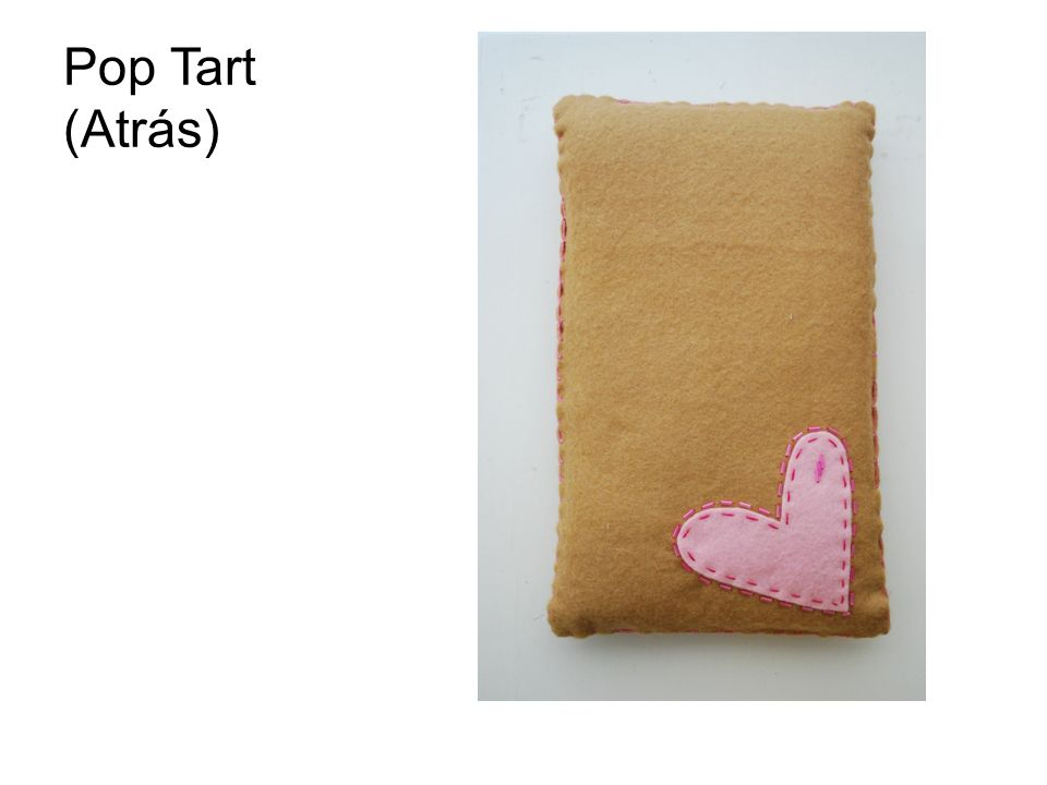 Pop Tart (Atrás)