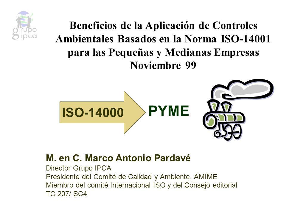 EVALUACIÓN DE DESEMPEÑO AMBIENTAL (EPE) ISO 14031 El propósito de ISO 14031 es ayudar a las organizaciones a cumplir los requisitos establecidos en ISO 14001 para medir resultados y llevar registro del desempeño.