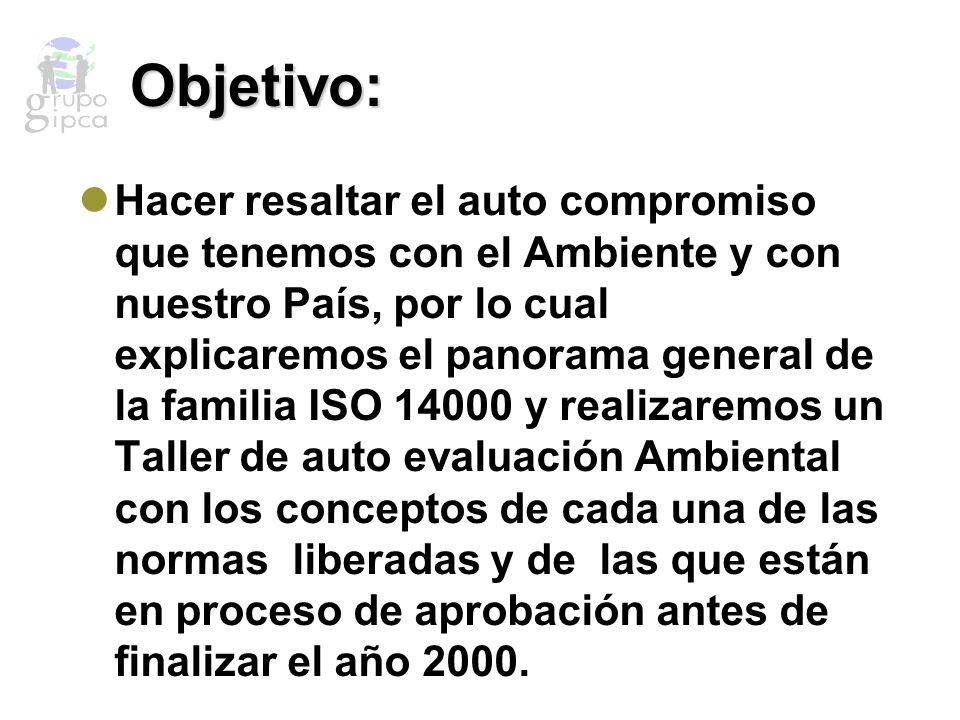 Auto Evaluación Ambiental (Taller) Tiene como objetivo realizar una evaluación a las empresas y empresarios que están involucrados desde el diseño de equipo, mantenimiento y uso adecuado del agua, tipo de emisiones de vapor, etc.