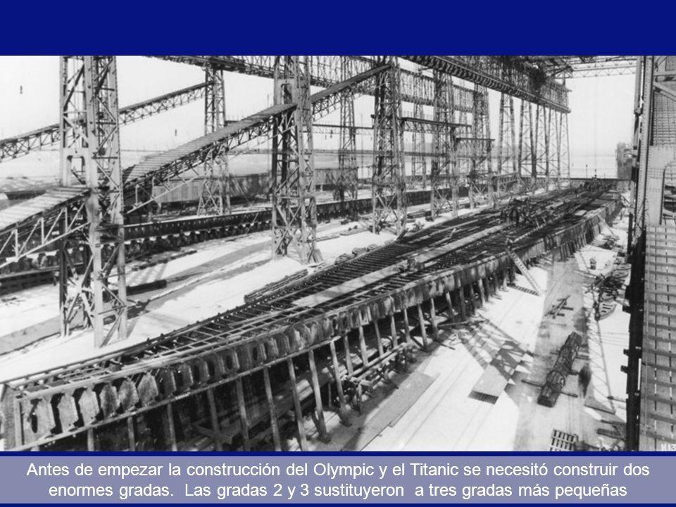 Maqueta original del Titanic y el Olympic