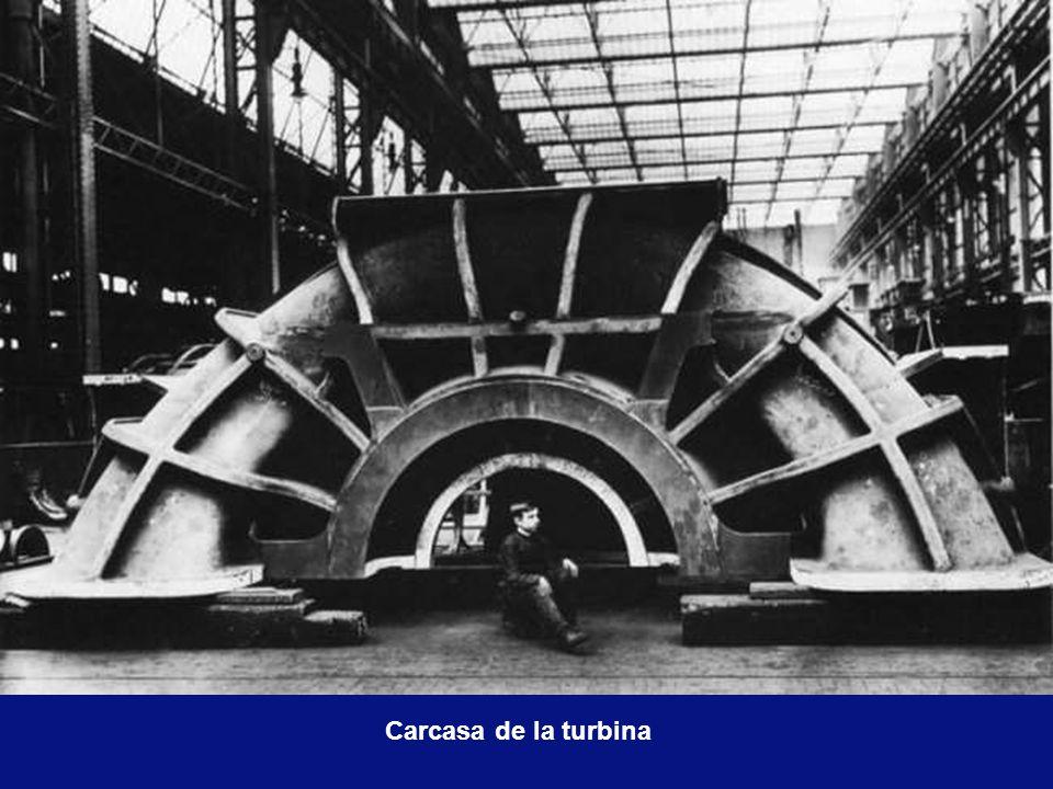 Rotor de la turbina