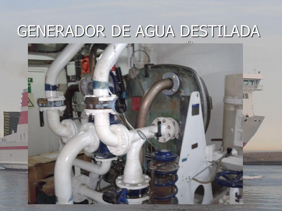 GENERADOR DE AGUA DESTILADA