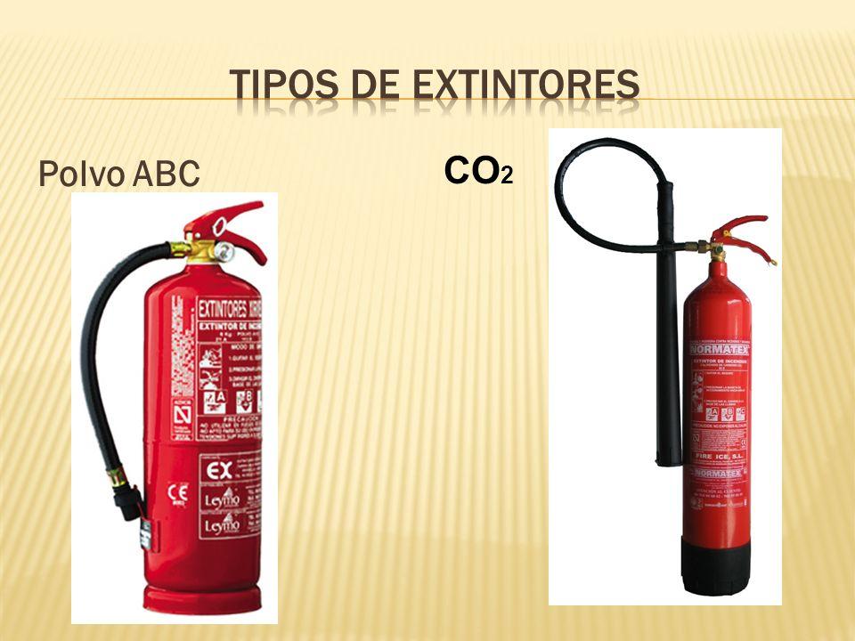Polvo ABC CO 2