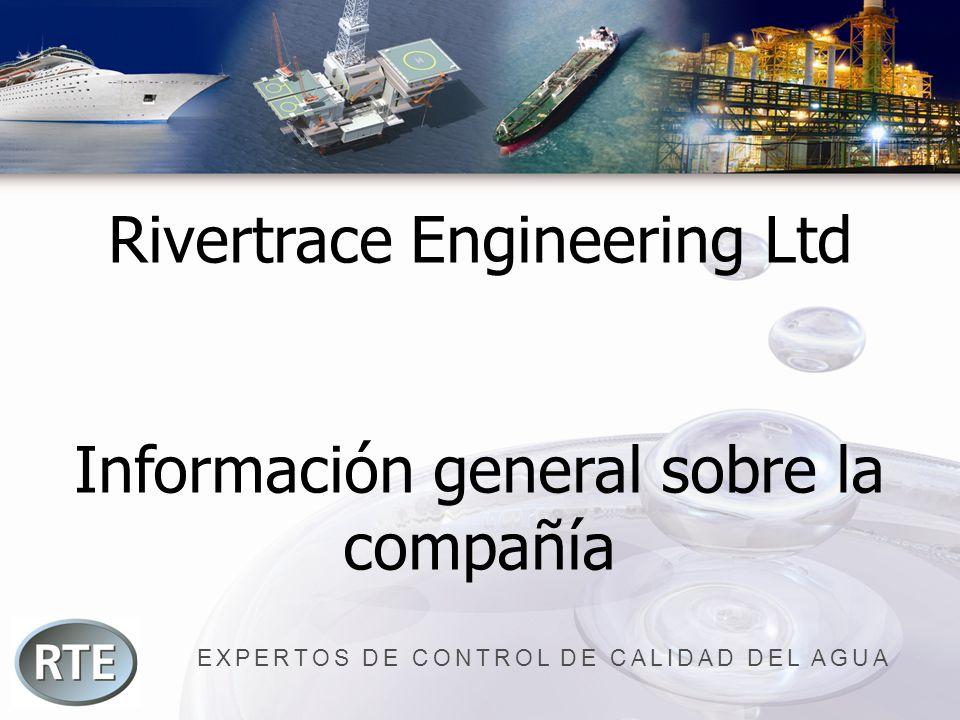 EXPERTOS DE CONTROL DE CALIDAD DEL AGUA Rivertrace Engineering Ltd Información general sobre la compañía