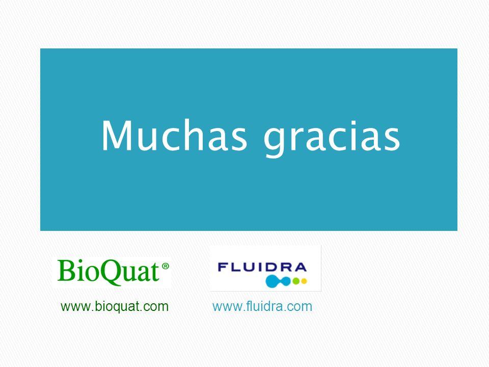 Muchas gracias www.bioquat.com www.fluidra.com