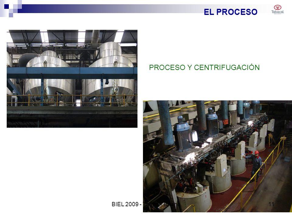 EL PROCESO PROCESO Y CENTRIFUGACIÓN 11BIEL 2009 - Torres - Briano