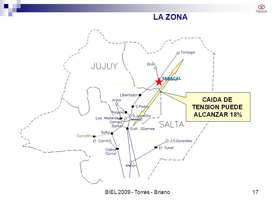 LA ZONA TABACAL 17BIEL 2009 - Torres - Briano