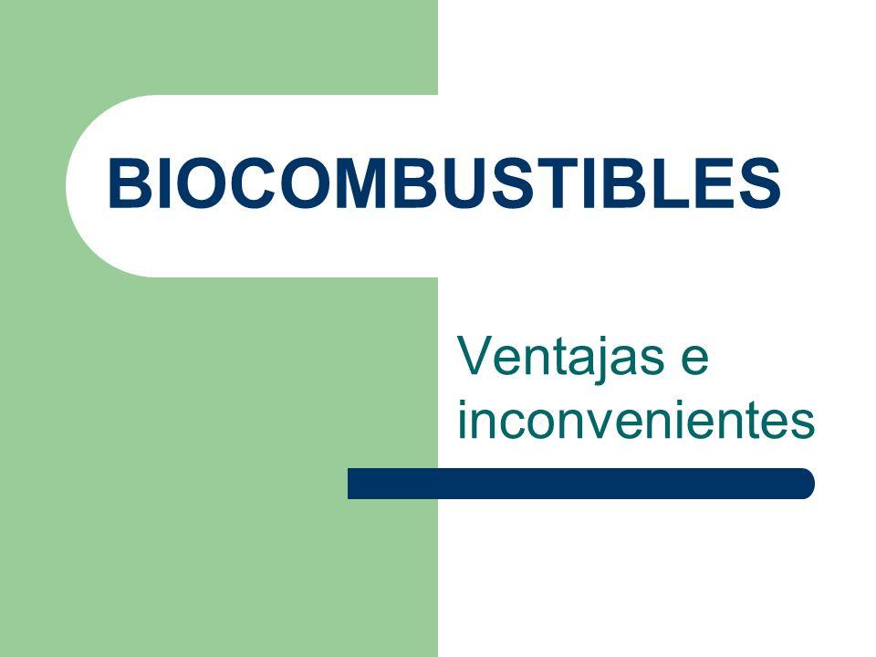 INTRODUCCION Los biocombustibles son aquellos combustibles que se obtienen de biomasa, es decir, de organismos recientemente vivos (como plantas) o sus desechos metabólicos (como estiércol).