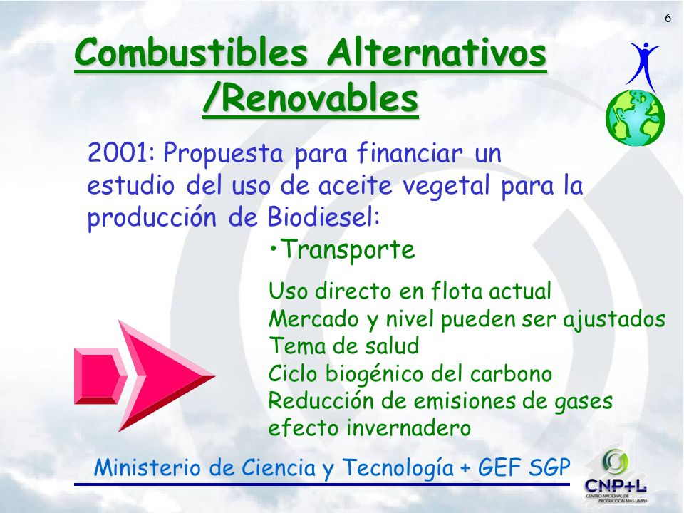 7 Combustibles alternativos /renovables