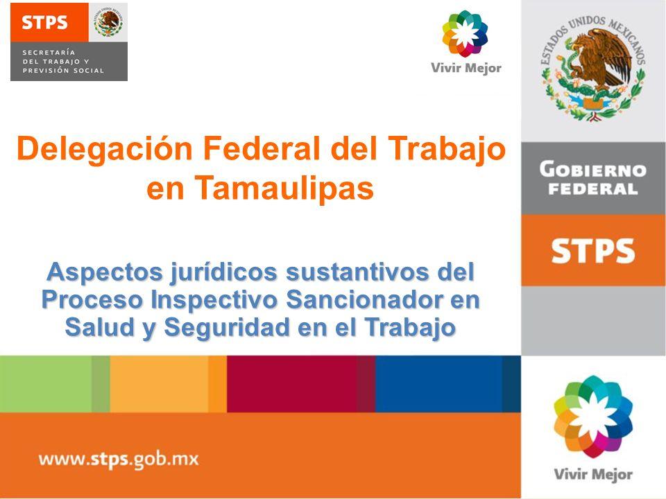 Aspectos jurídicos sustantivos del Proceso Inspectivo Sancionador en Salud y Seguridad en el Trabajo Delegación Federal del Trabajo en Tamaulipas
