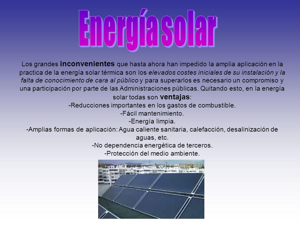 VENTAJAS DE LA ENERGÍA ÉOLICA -La energía eólica como fuente de energía renovable que son: -Nunca se acabará.