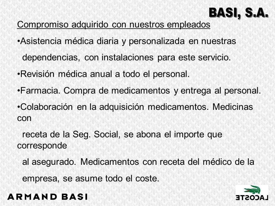 Compromiso adquirido con nuestros empleados Baja por maternidad Complemento de mejora, en caso de maternidad, del 100% en el período de baja(16 semanas), cuando el salario es superior a 2.813,40 euros brutos mensuales.
