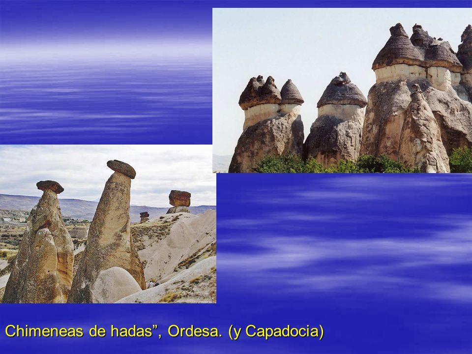 Chimeneas de hadas, Ordesa. (y Capadocia)