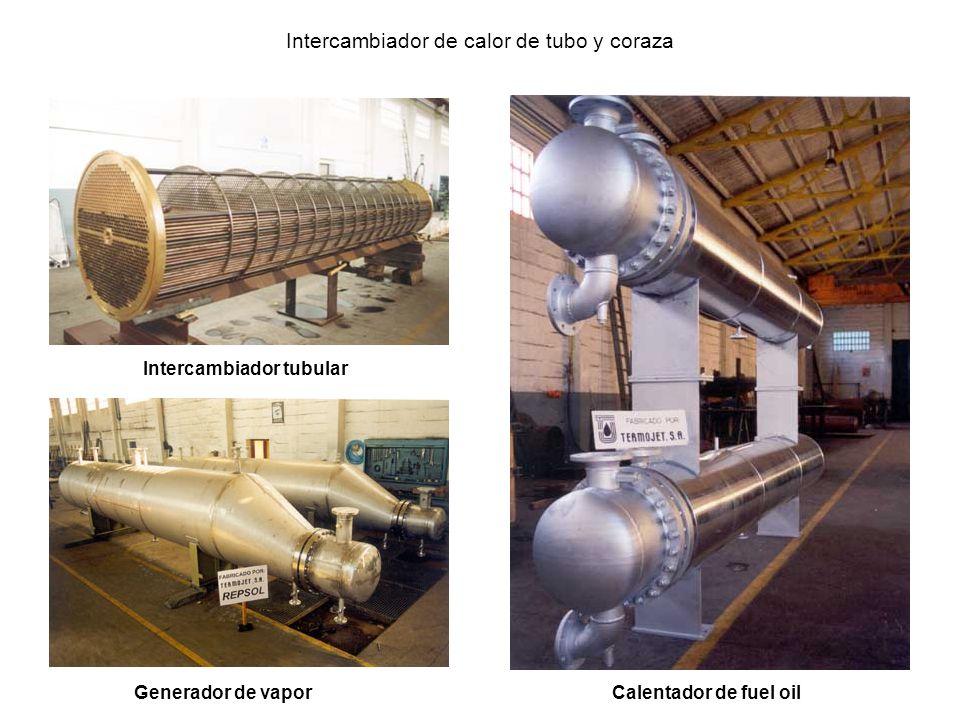Generador de vapor Intercambiador tubular Calentador de fuel oil Intercambiador de calor de tubo y coraza