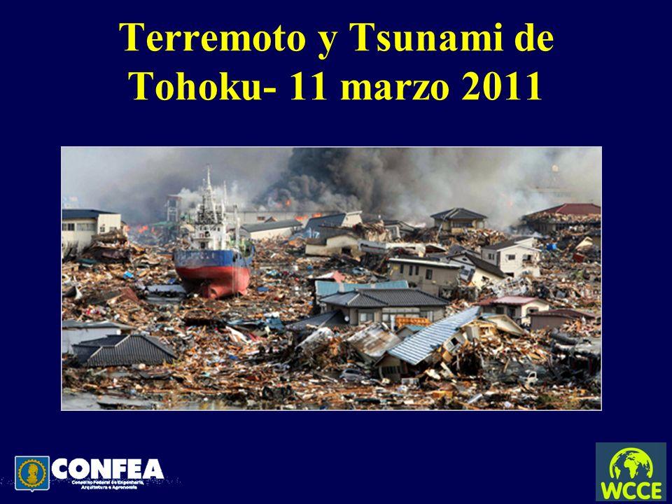 Terremoto y Tsunami de Tohoku- 11 marzo 2011