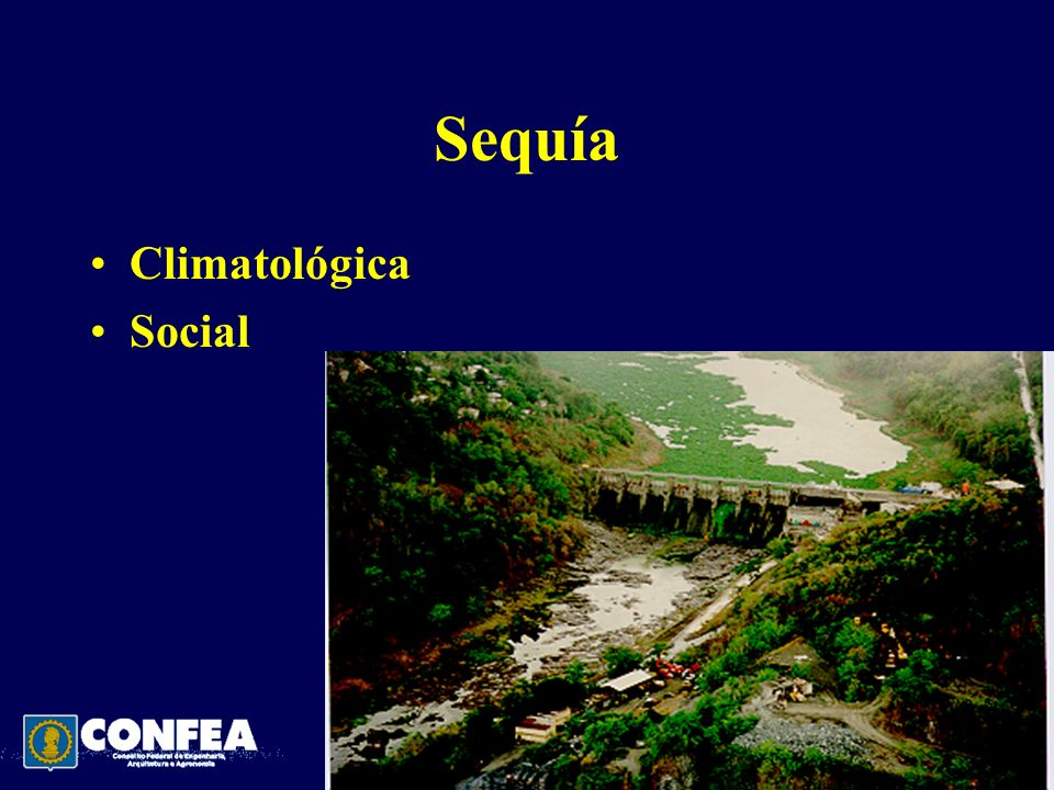 Sequía Climatológica Social