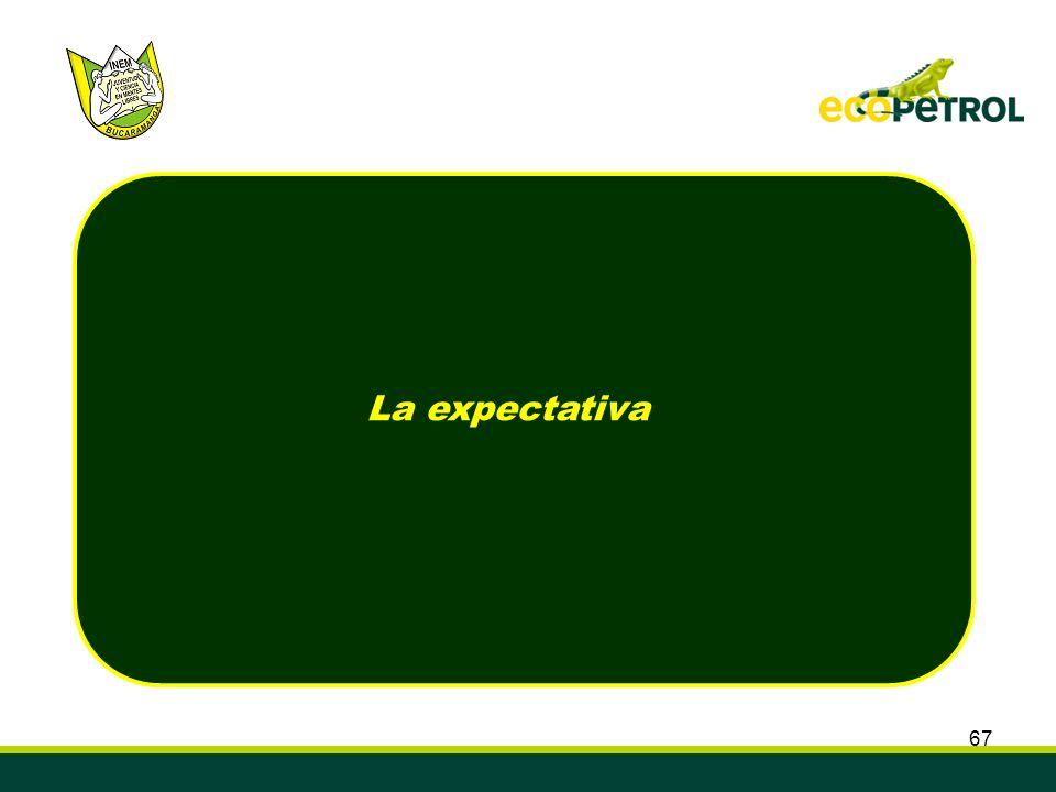 67 La expectativa