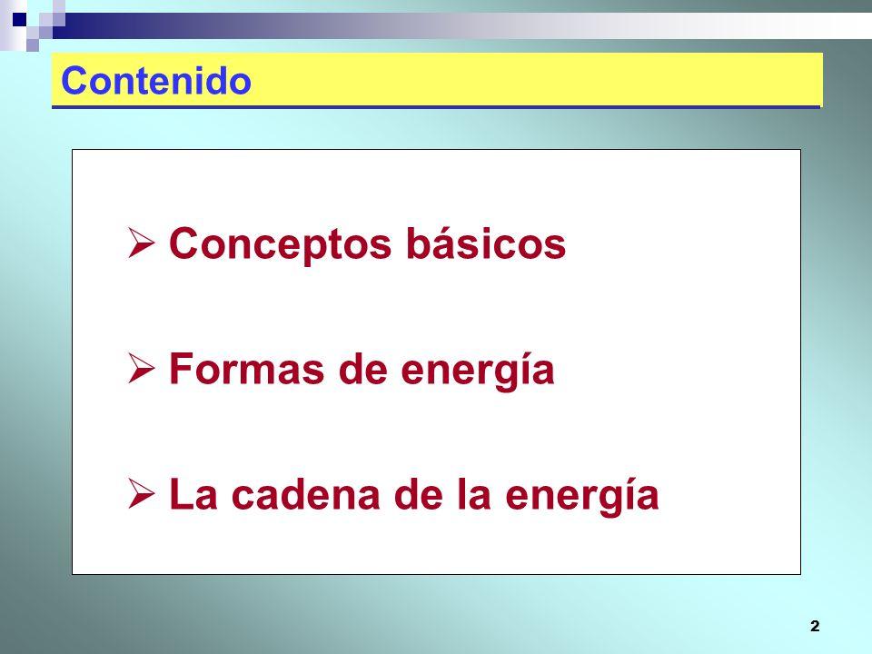 13 La ENERGÍA está presente en nuestra vida diaria (3/3) La energía térmica se expresa primero en forma de calor, en cualquiera de sus tres maneras de propagar- se: Conducción (cuando un cuerpo conduce el calor debido a que sus partículas constituyentes vibran y chocan con las vecinas).