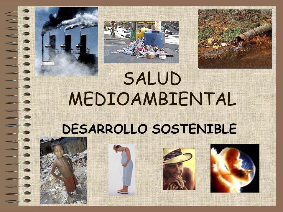 SALUD MEDIOAMBIENTAL DESARROLLO SOSTENIBLE
