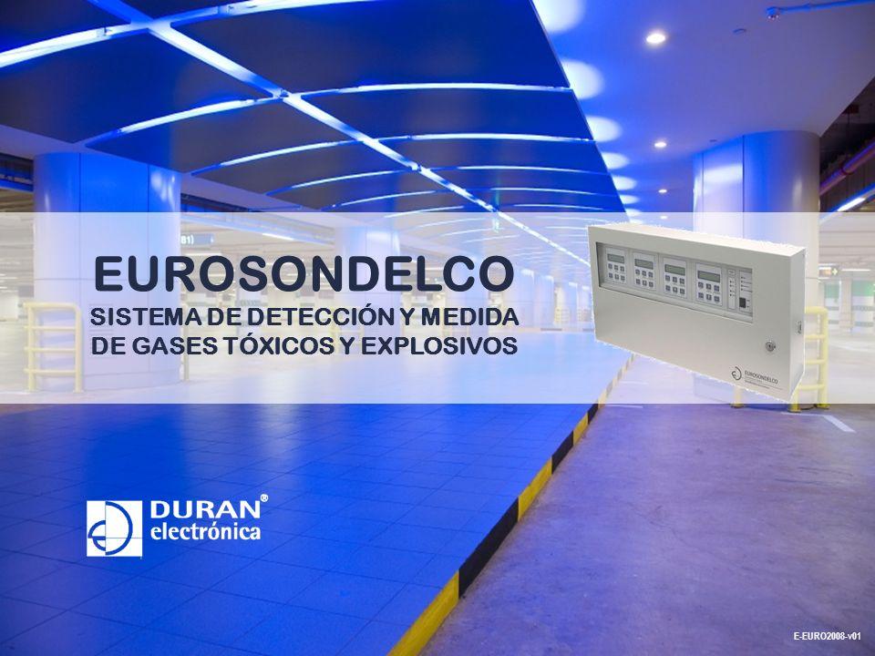 EUROSONDELCO SISTEMA DE DETECCIÓN Y MEDIDA DE GASES TÓXICOS Y EXPLOSIVOS E-EURO2008-v01