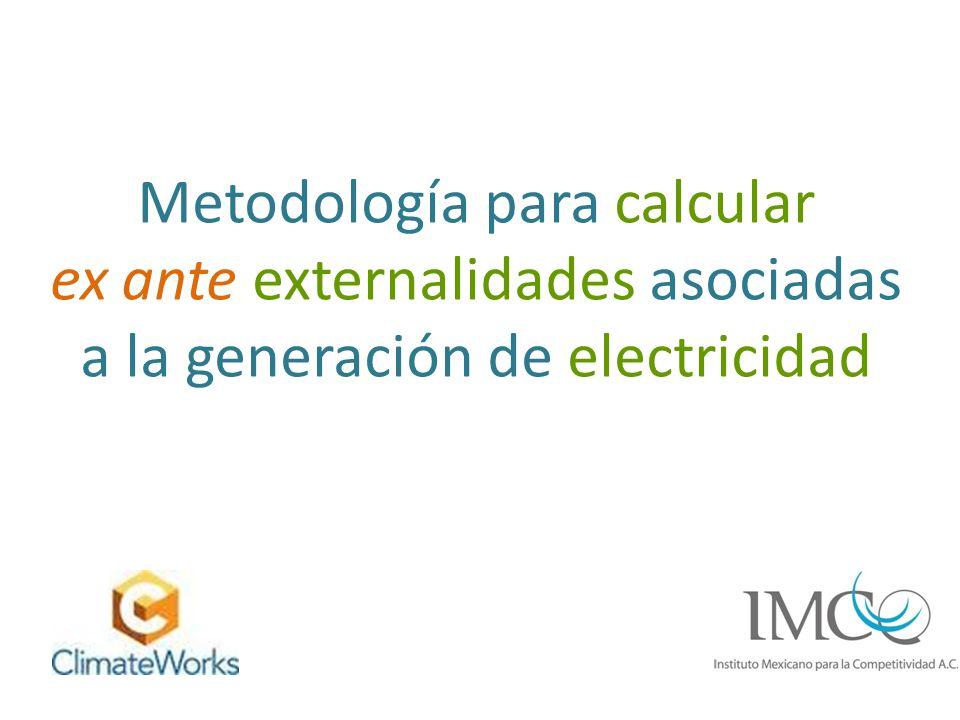 Analizar las metodologías y herramientas empleadas a nivel mundial para calcular externalidades.