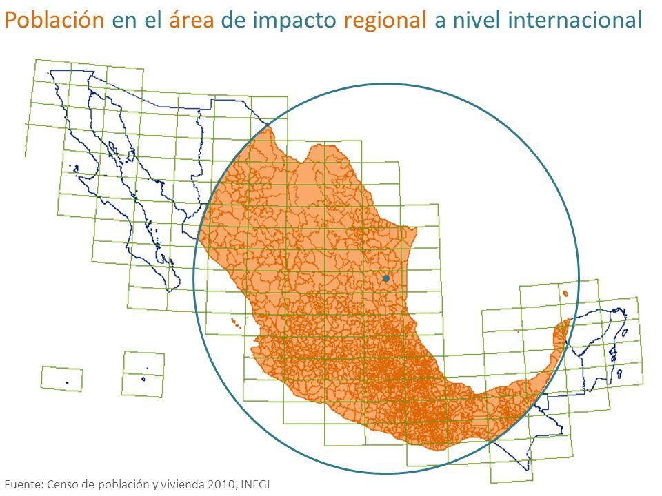 Promedio de cobertura vegetal de datos municipales por zona Fuente: Carta de vegetación y uso de suelo 2005, INEGI Cobertura vegetal (%) 0- 15 15-30 30-45 45-60 60-100