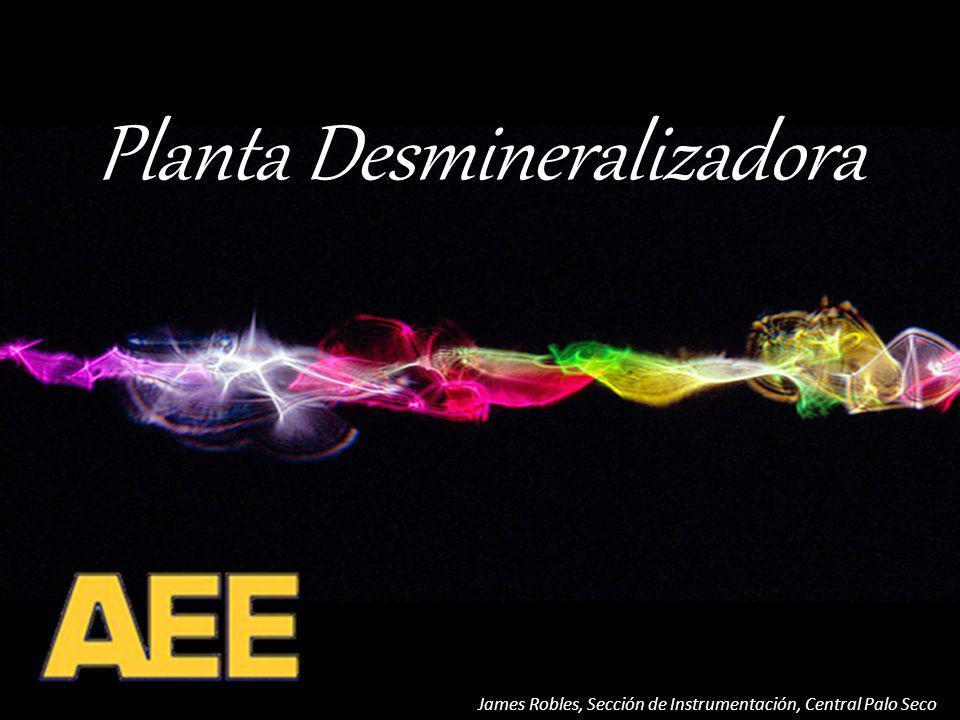 Planta Desmineralizadora James Robles, Sección de Instrumentación, Central Palo Seco Proceso de Regeneración Lavado con Dilución de Cáustica del Anión C-6 Entrada de Dilución Salida de Dilución C-4