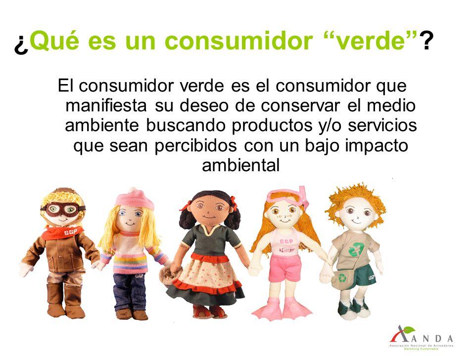 ¿Qué es un consumidor verde? El consumidor verde es el consumidor que manifiesta su deseo de conservar el medio ambiente buscando productos y/o servic
