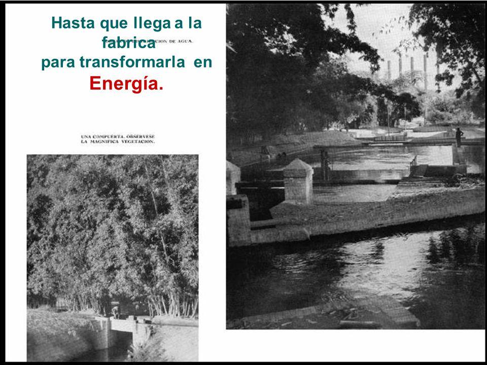 Manejo integral del agua para riego e industria. En su momento la obra hidráulica privada mas grande de Sud América
