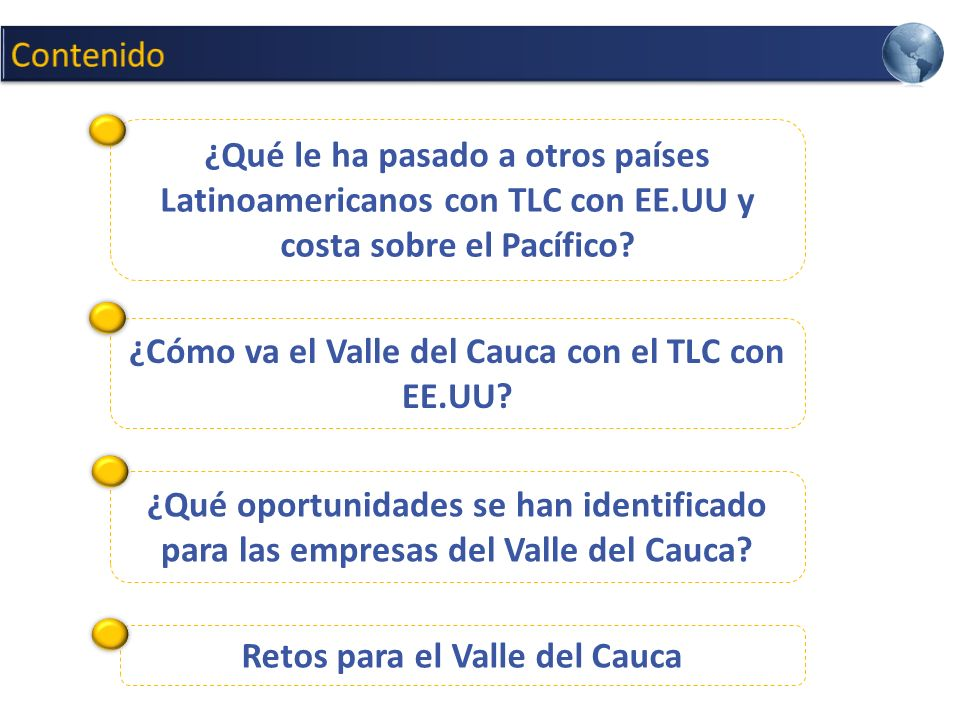 ¿Qué le ha pasado a otros países Latinoamericanos con TLC con EE.UU y costa sobre el Pacífico?