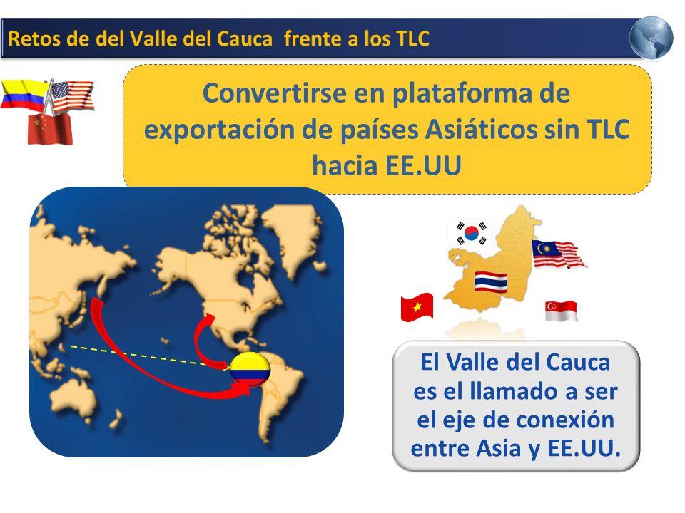El Valle del Cauca es el llamado a ser el eje de conexión entre Asia y EE.UU.