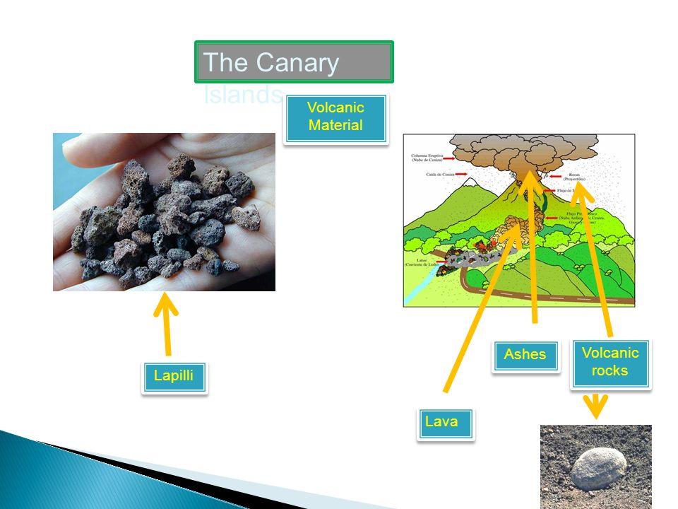 The Canary Islands Volcanic Forms Volcanic neck Calderas