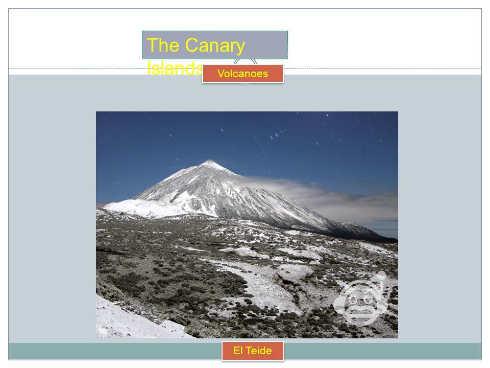 The Canary Islands Volcanoes Teneguía (1971) Timanfaya