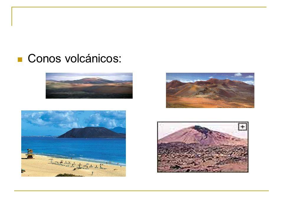 Conos volcánicos: