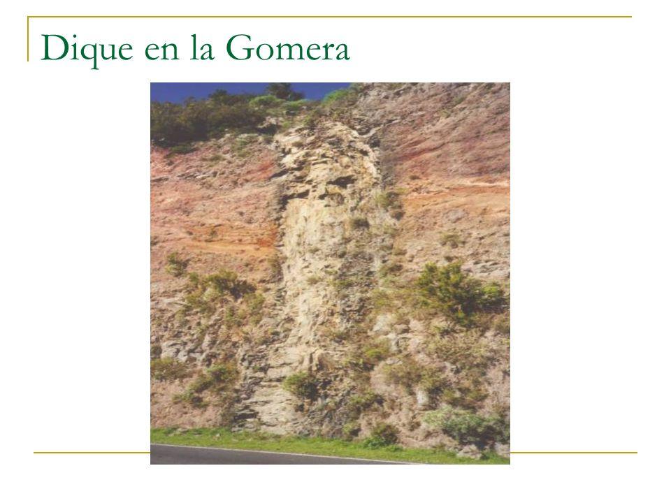 Dique en la Gomera