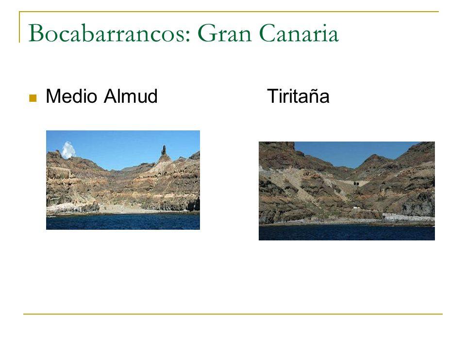 Bocabarrancos: Gran Canaria Medio Almud Tiritaña