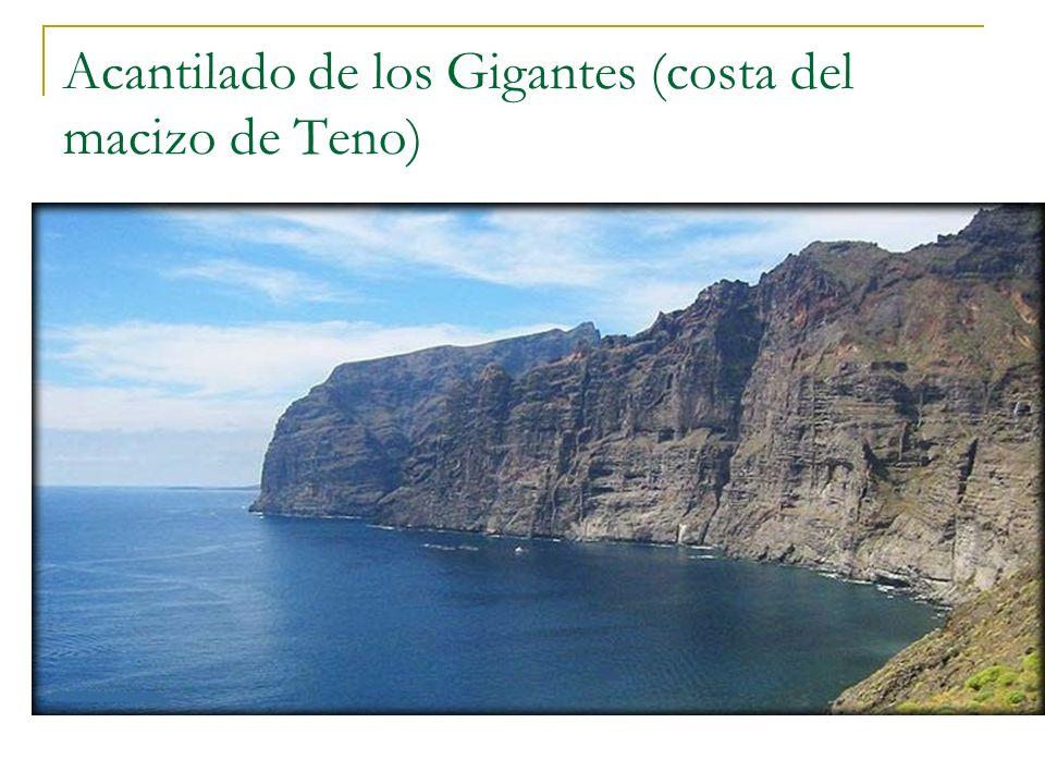 Acantilado de los Gigantes (costa del macizo de Teno)