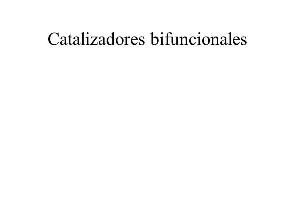 Catalizadores bifuncionales