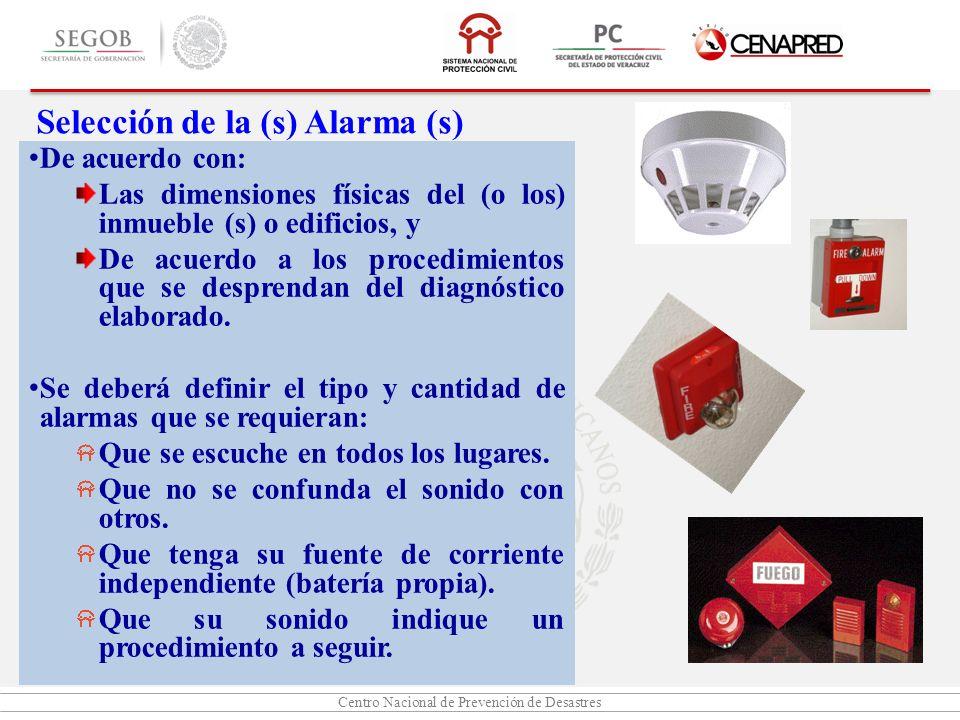 Centro Nacional de Prevención de Desastres De acuerdo con: Las dimensiones físicas del (o los) inmueble (s) o edificios, y De acuerdo a los procedimie
