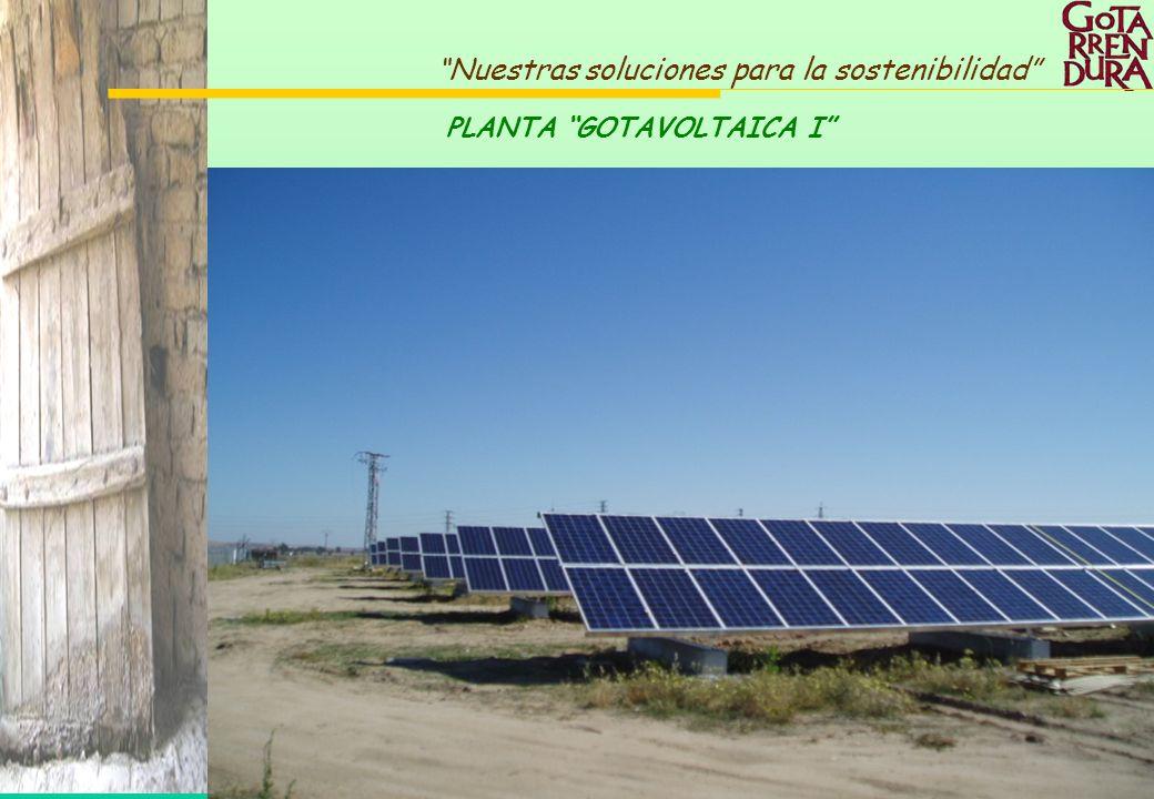53 Nuestras soluciones para la sostenibilidad PLANTA GOTAVOLTAICA I