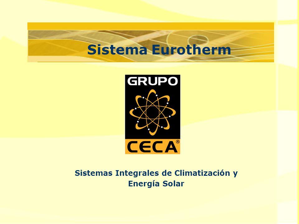 Sistema Eurotherm Sistemas Integrales de Climatización y Energía Solar