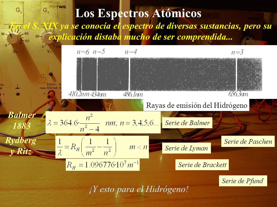 Los Espectros Atómicos En el S.