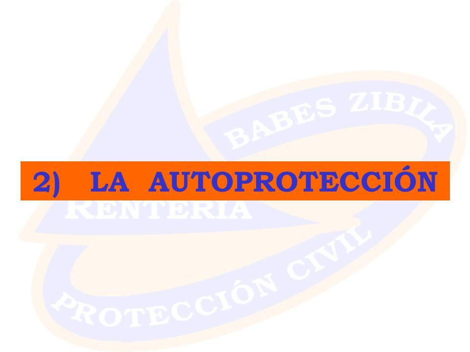 2) LA AUTOPROTECCIÓN
