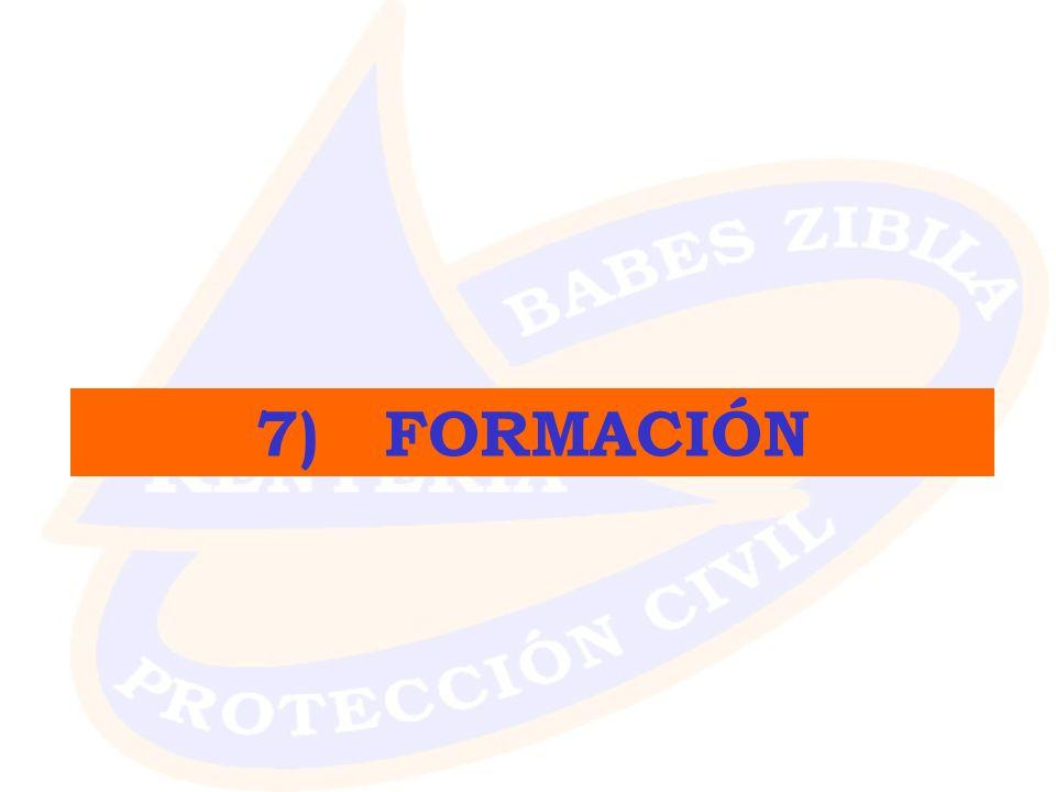 7) FORMACIÓN