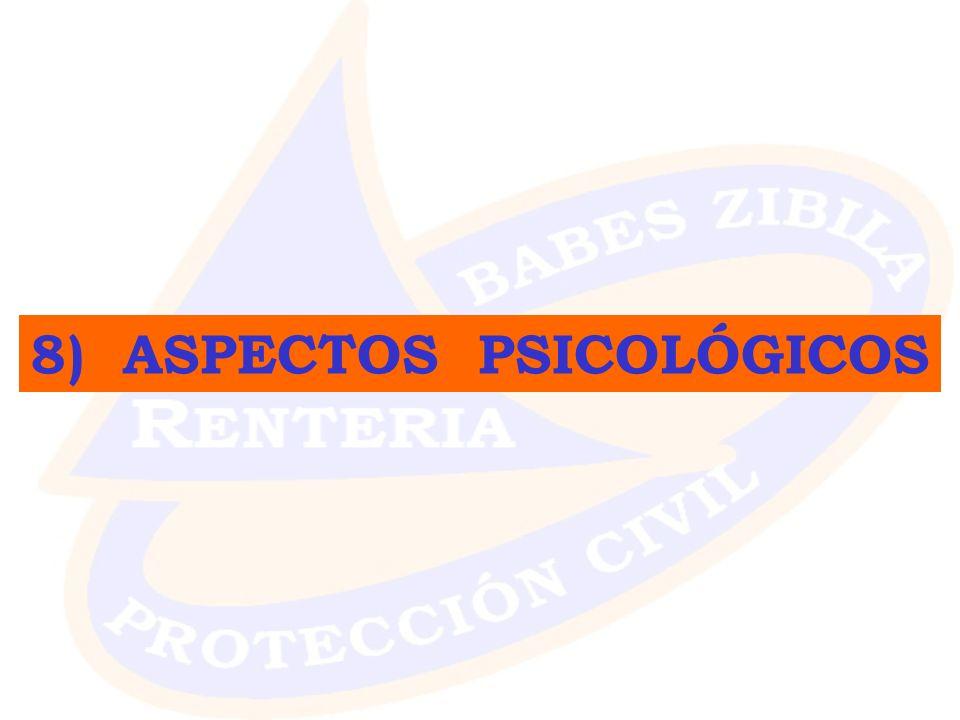8) ASPECTOS PSICOLÓGICOS