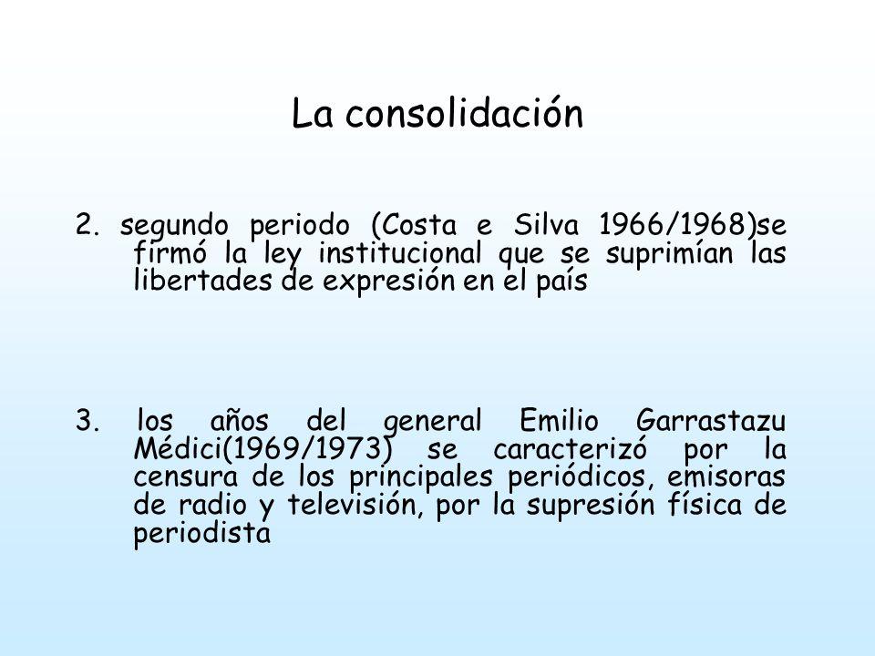 La consolidación 4.
